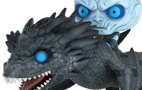 Night King y Icy Viserion Game Of Thrones Funko Pop GITD