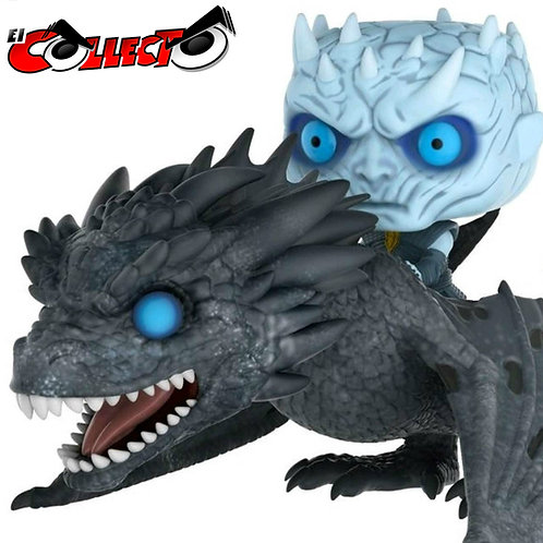 Night King y Icy Viserion Game Of Thrones Funko Pop GITD