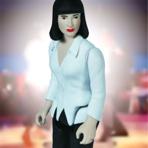 "Mia Wallace Pulp Fiction 3.75"" ReAction Funko"