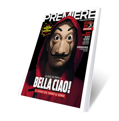 Cine PREMIERE Abril 2020 - Casa de Papel