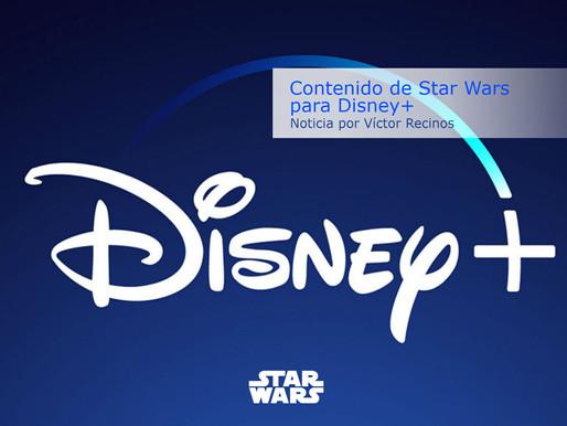 Contenido de Star Wars para Disney+