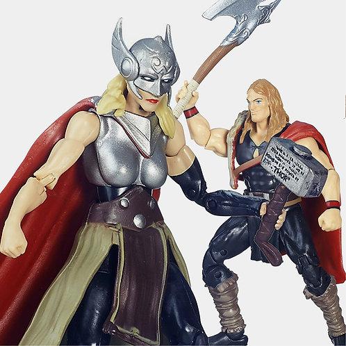 Defenders Of Asgard Marvel Universe Hasbro Battleworld Thors