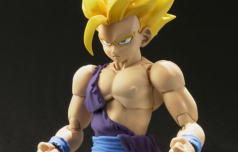 Son Gohan Super Saiyan Battle Damage Dragon Ball Z SHFiguarts