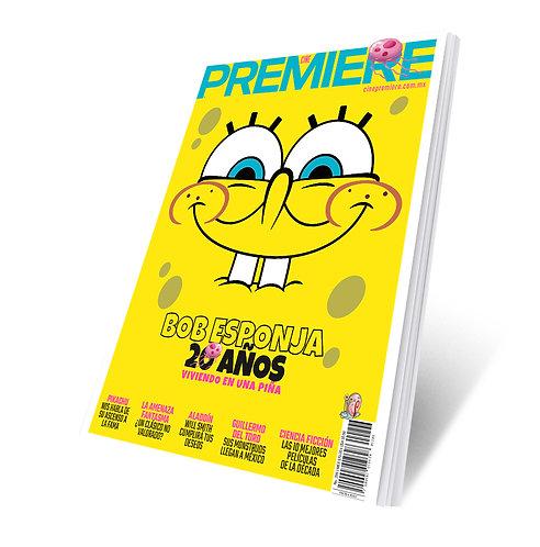 Revista Cine PREMIERE edición Mayo 2019 Portada Variante Bob Esponja 2