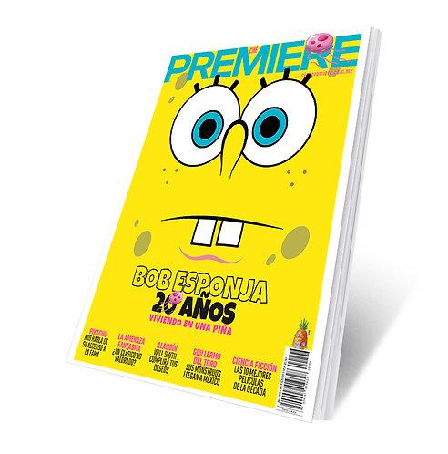 Revista Cine PREMIERE edición Mayo 2019 Portada Variante Bob Esponja 3