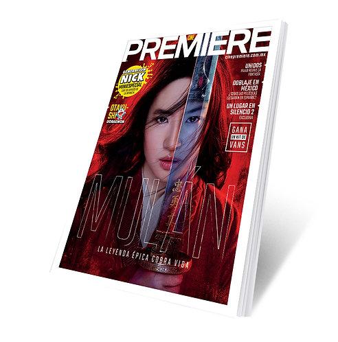 Cine PREMIERE Marzo 2020 - Mulan