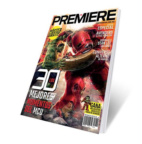 Revista Cine PREMIERE edición Especial Avengers 2019 Portada Variante 2