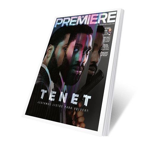 Cine PREMIERE Julio 2020 - Tenet