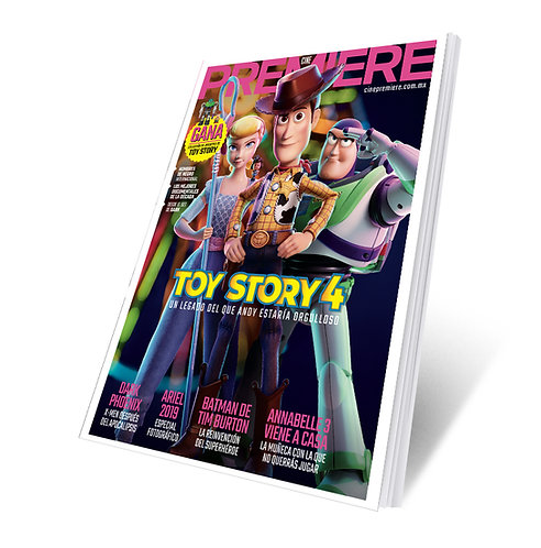 Revista Cine PREMIERE edición Junio 2019 Portada Variante Toy Story