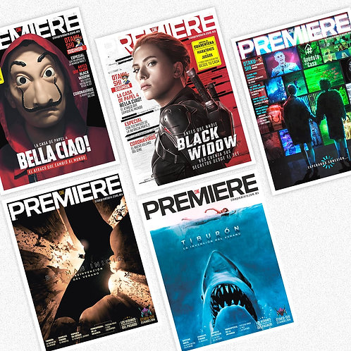 Cine PREMIERE - Paquete Abril + Mayo + Junio + Julio
