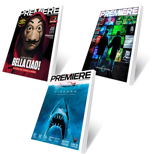 Cine PREMIERE - Paquete Abril + Mayo + Junio