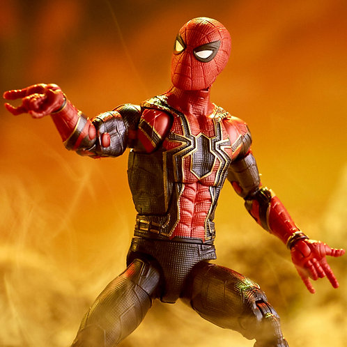 Iron Spider Thanos BAF Avengers Infinity War Marvel Legends Hasbro