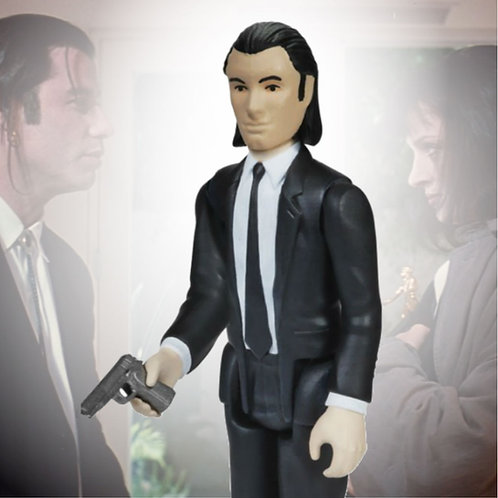 "Vincent Vega Pulp Fiction 3.75"" ReAction Funko"