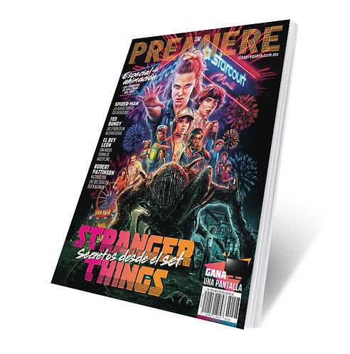 Revista Cine PREMIERE edición Julio 2019 Portada Variante Stranger Things