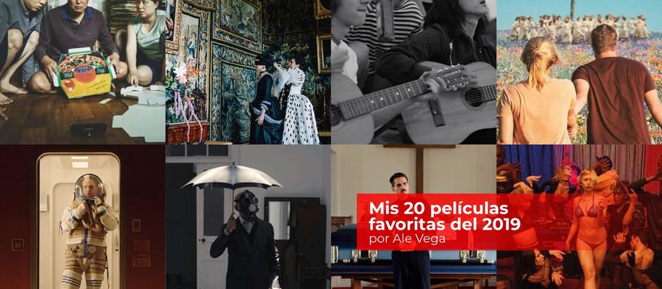 Mis 20 películas favoritas del 2019
