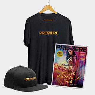 Paquete de aniversario Cine PREMIERE Revista + Gorra + Playera