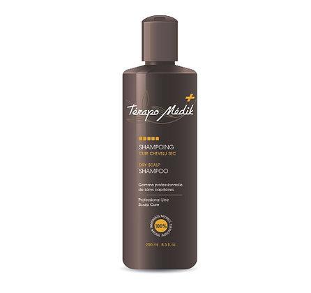 Shampoing cuir chevelu sec