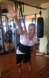 Gym training, Tenerife