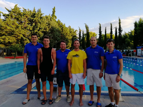 Swimming Camp Atletta with Olympia swimmers Alexander Popov, Andrey Serdinov and Deves Dimitris - Greece