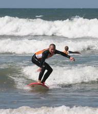 Surfing camp, Maroko
