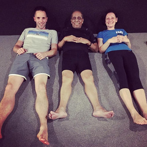 Ashtanga yoga - Manju Jois workshop in Prakriti, Bratislava