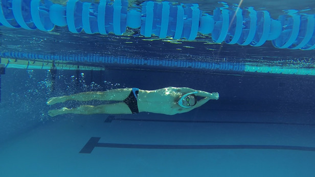 Testing of the new swim snorkle from company  Powerbreather, Tenerife Top Training Athletic Sphere