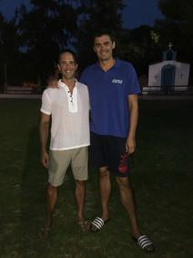 Alexander Popov - swimming camp, Greece