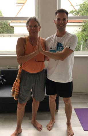 Ashtanga yoga workshop - David William - Bratislava, Slovakia