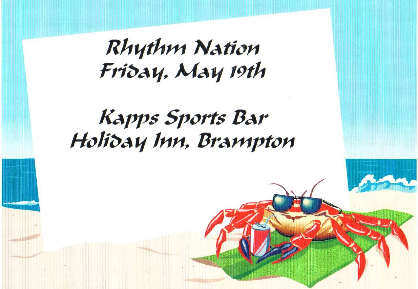 Rhythm Nation - Holiday Inn Kapps Sports Bar