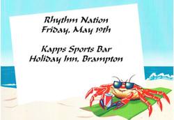 Rhythm Nation - Holiday Inn Kapps Sports Bar