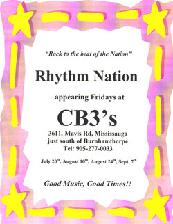 Rhythm Nation - CB3's