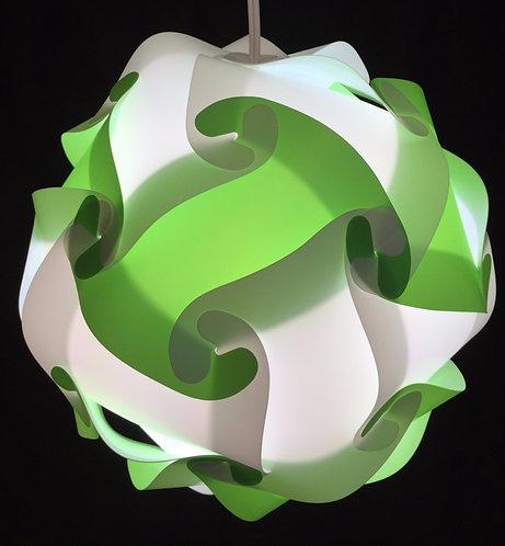 Blanche et verte