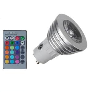 Ampoule DEL 16 couleurs et manette de contrôle