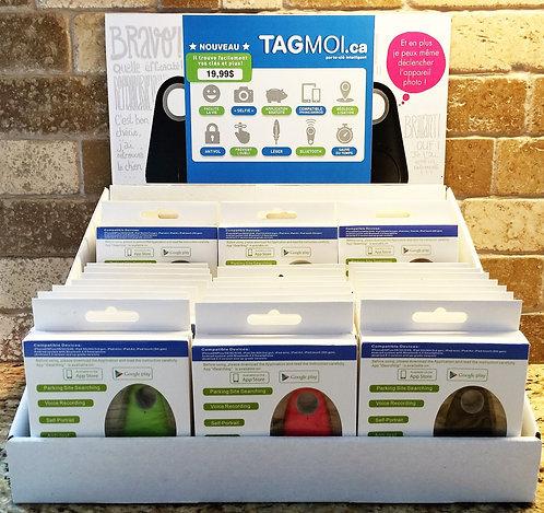 Présentoir TagMoi (33 unités)