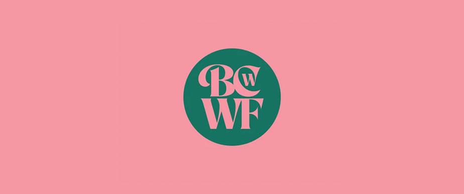 Wix ユーザーの Simon Walker さんによるピンク背景の緑色のロゴデザイン