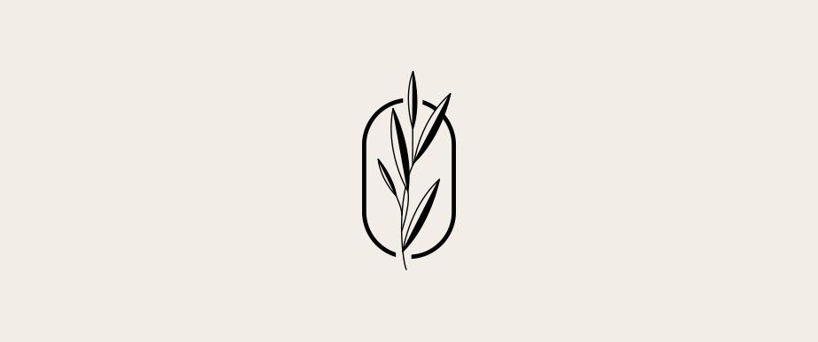 Wix ロゴメーカーで作成された自然をモチーフにしたロゴデザイン