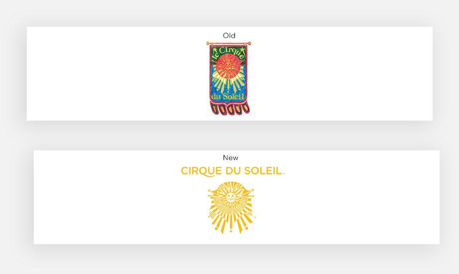 シルク・ドゥ・ソレイユのロゴ