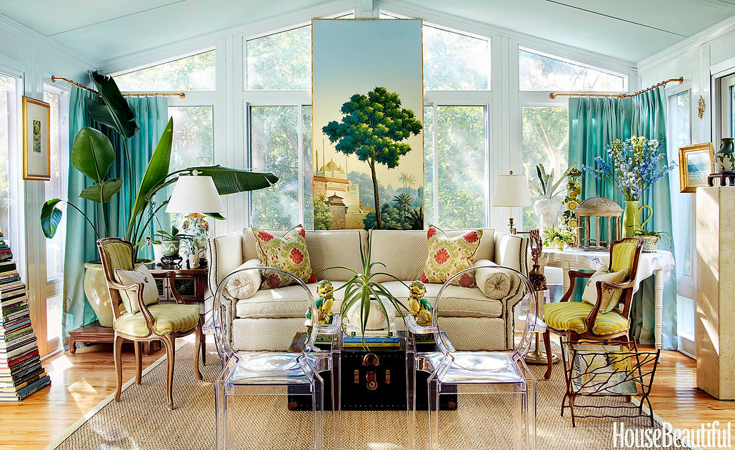 J.P. Horton interior living room house beautiful