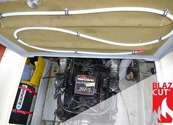 Tube d'Extinction Automatique d'Incendie / 5 mètres -2 m3