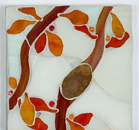 Seaweed #7  6x6 Sheryl Crowley FAM 2020.