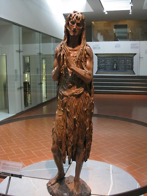 Donatello's Mary Magdalene 1450's