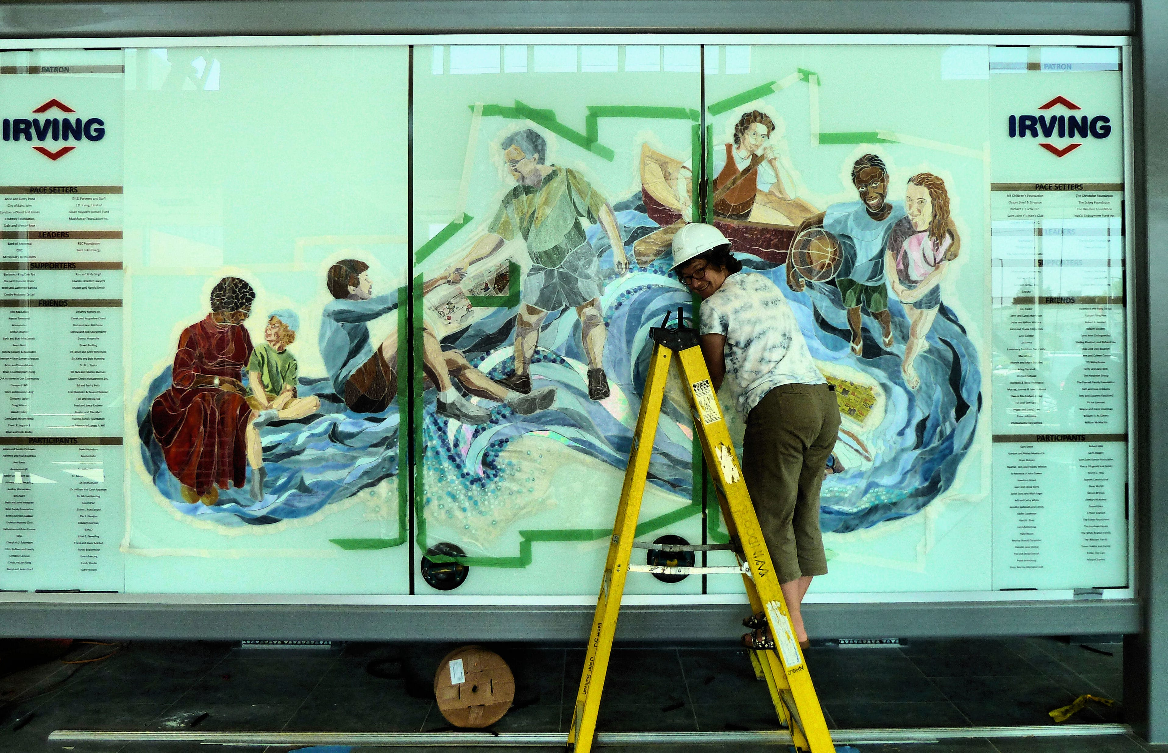 taping off for grouting YMCA Mural Aug'15 (51)-min