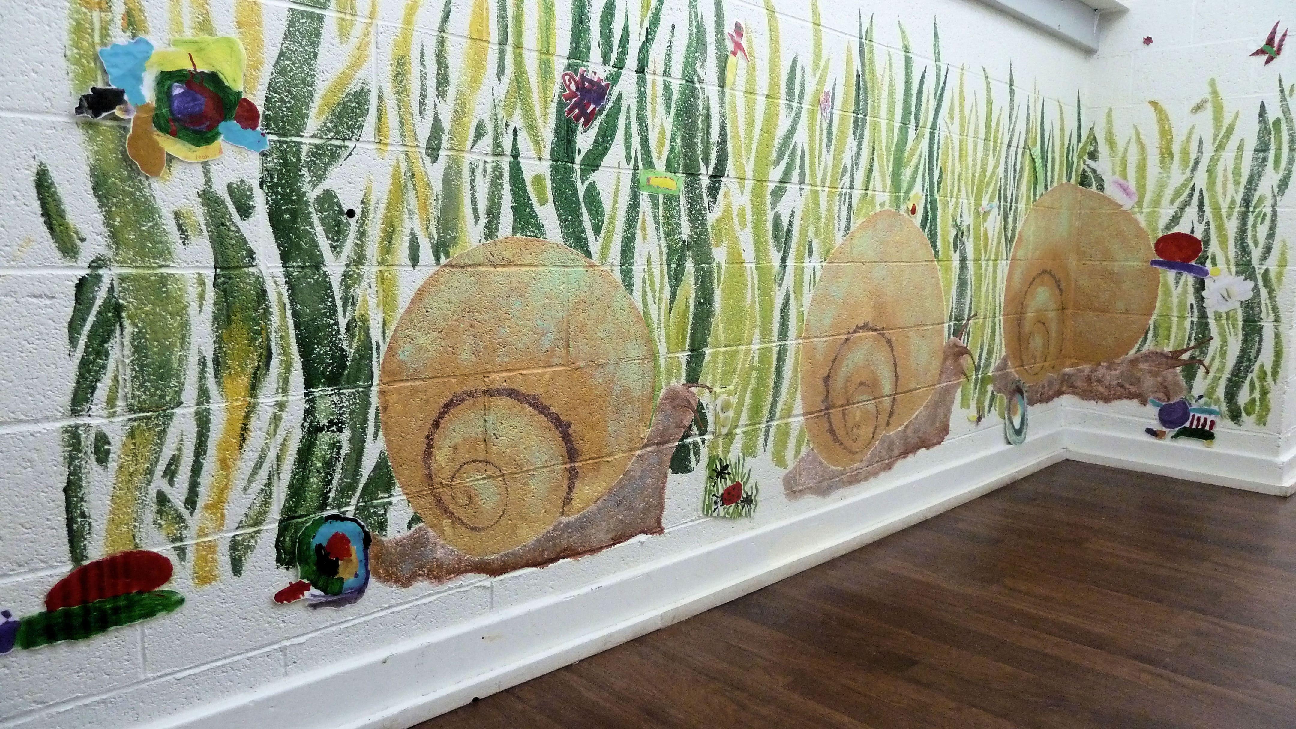 Snail Mural final display Fall 2011 (3)-min