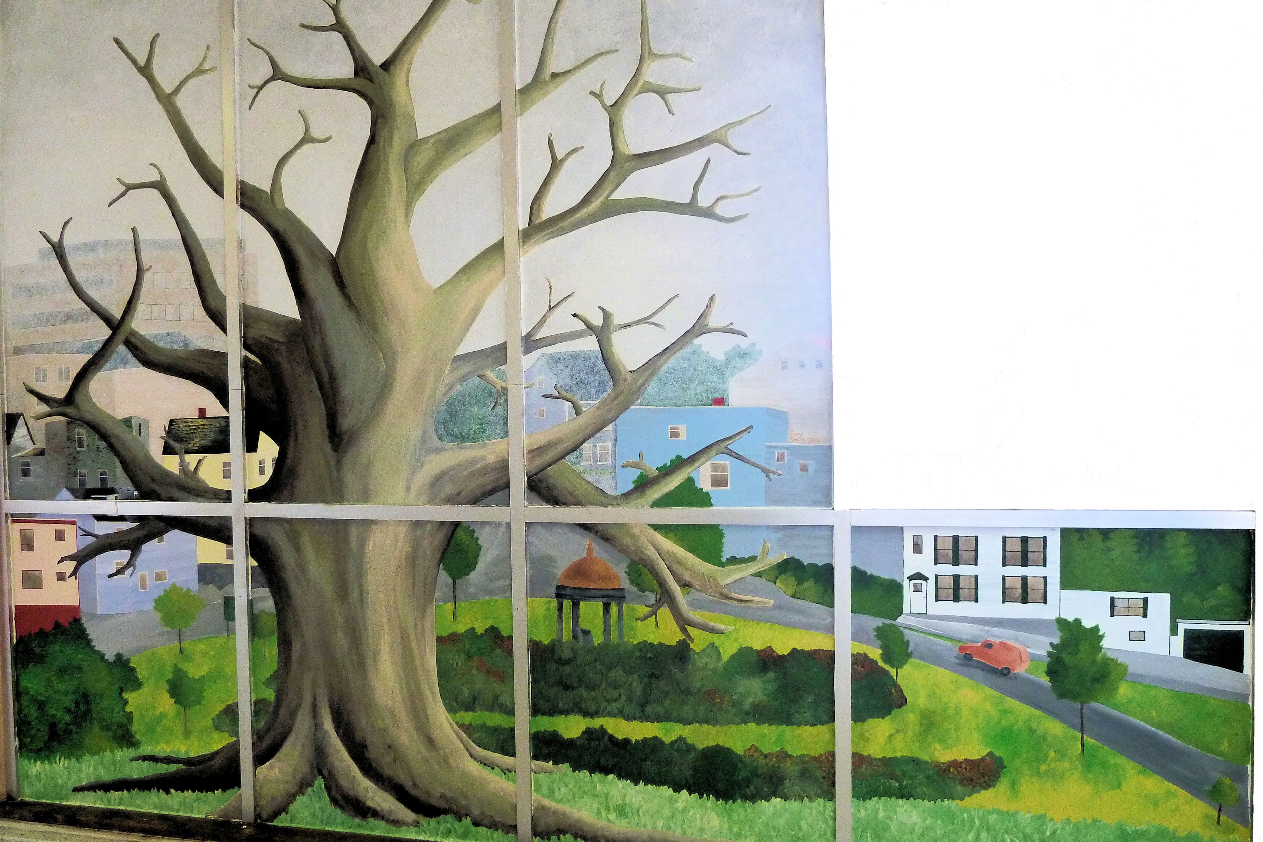 SJECC Tree Mural Finished dogged May 2012-min