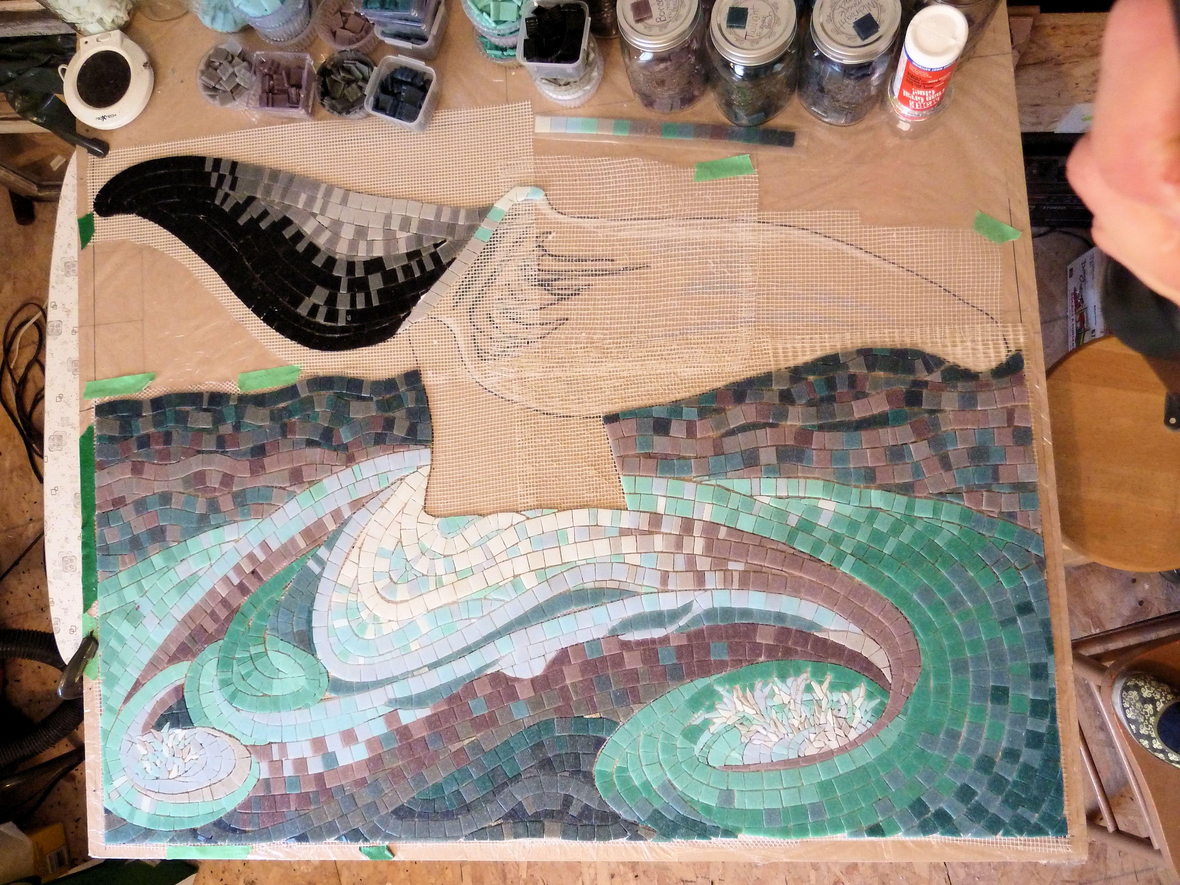 Half a fin - Legacy Cruise Project Progress  whale tail progress April 2012  a (1)-min