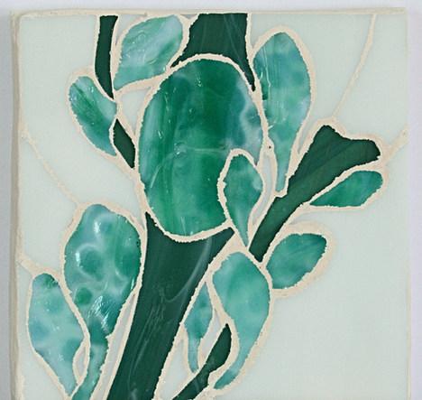 Seaweed #12 6x6 Sheryl Crowley FAM 2020.