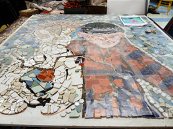 St. Malachy's Mosaic Project-Yvon Gallant work May 2012 16 (7)-min