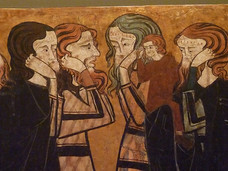 Criers-Mourners -close-up- early Castili