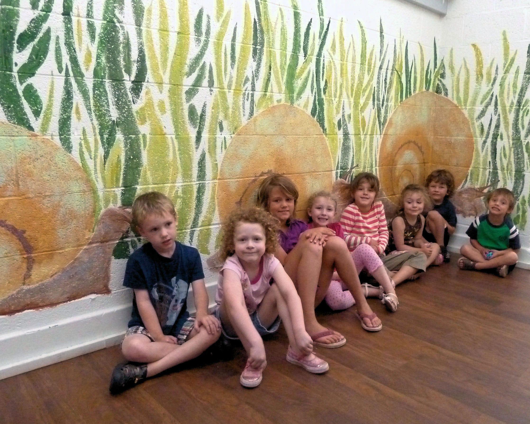 Snail Mural Painters to print SJECC Aug 2011 (1)-min