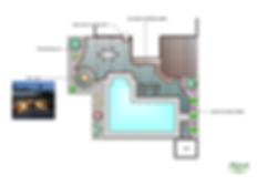 pool design, pool patio, backyard design